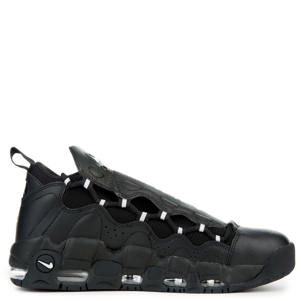 AJ2998-002 Nike Air More Money Chaussures - Noir/Metallic Silver