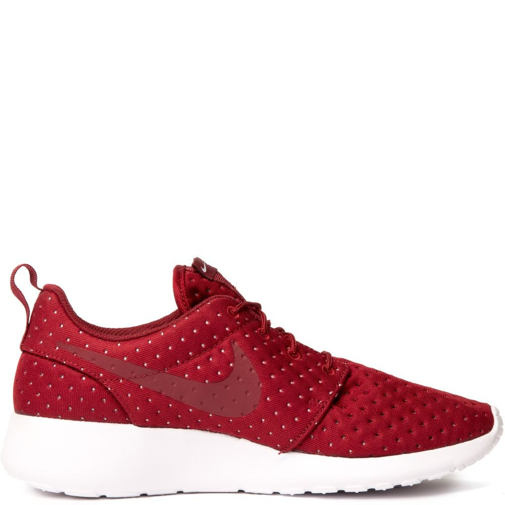 844687-601 Nike Roshe One SE Chaussures - Rouge/Rouge-Blanche
