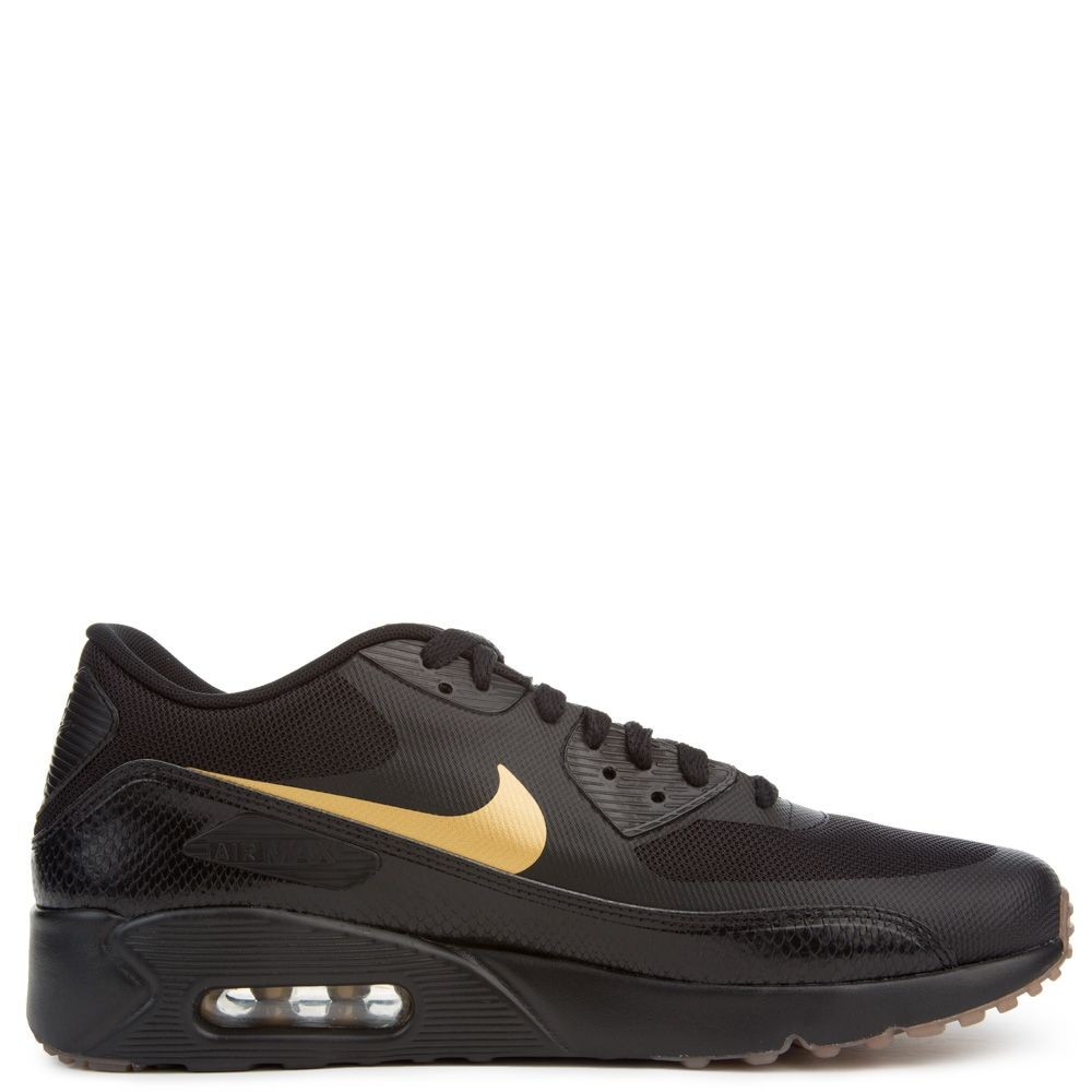 875695-016 Nike Air Max 90 Ultra 2.0 Essential - Noir/Metallic Gold/Marron
