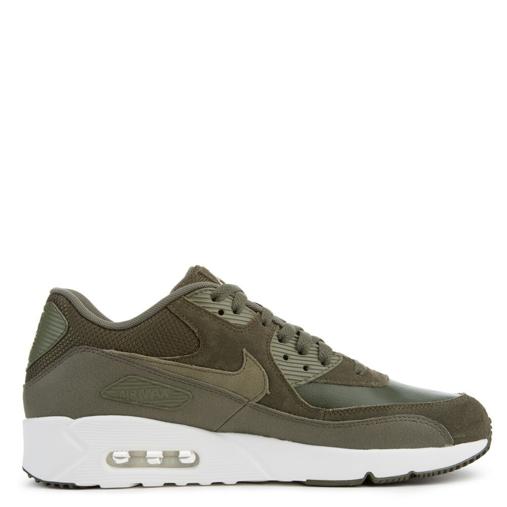 924447-300 Nike Air Max 90 Ultra 2.0 - Cargo Khaki/Olive/Blanche