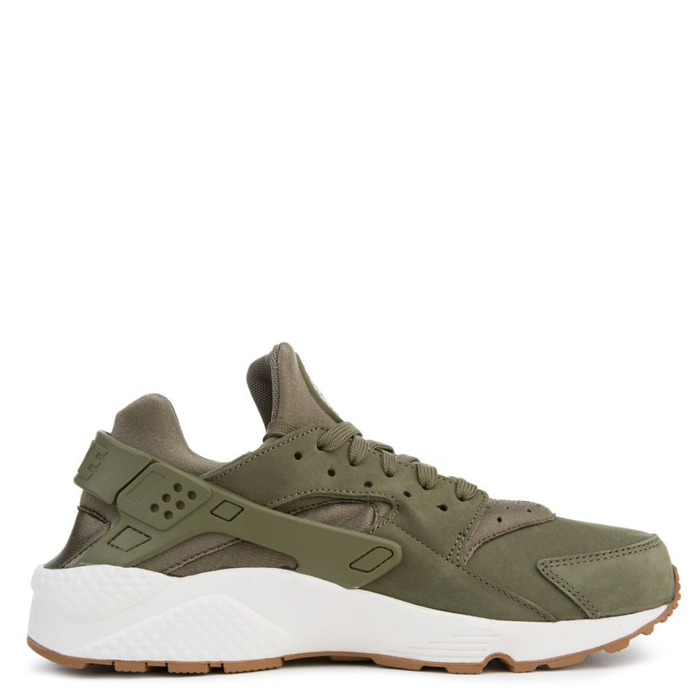 318429-201 Nike Air Huarache - Olive/Sail-Gum Marron