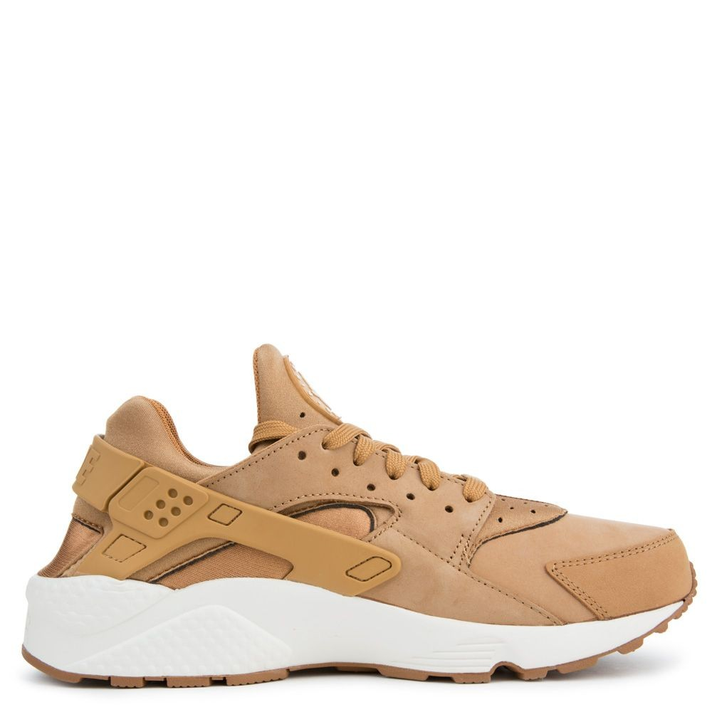 318429-202 Nike Air Huarache Chaussures - Flax/Sail-Gum Marron