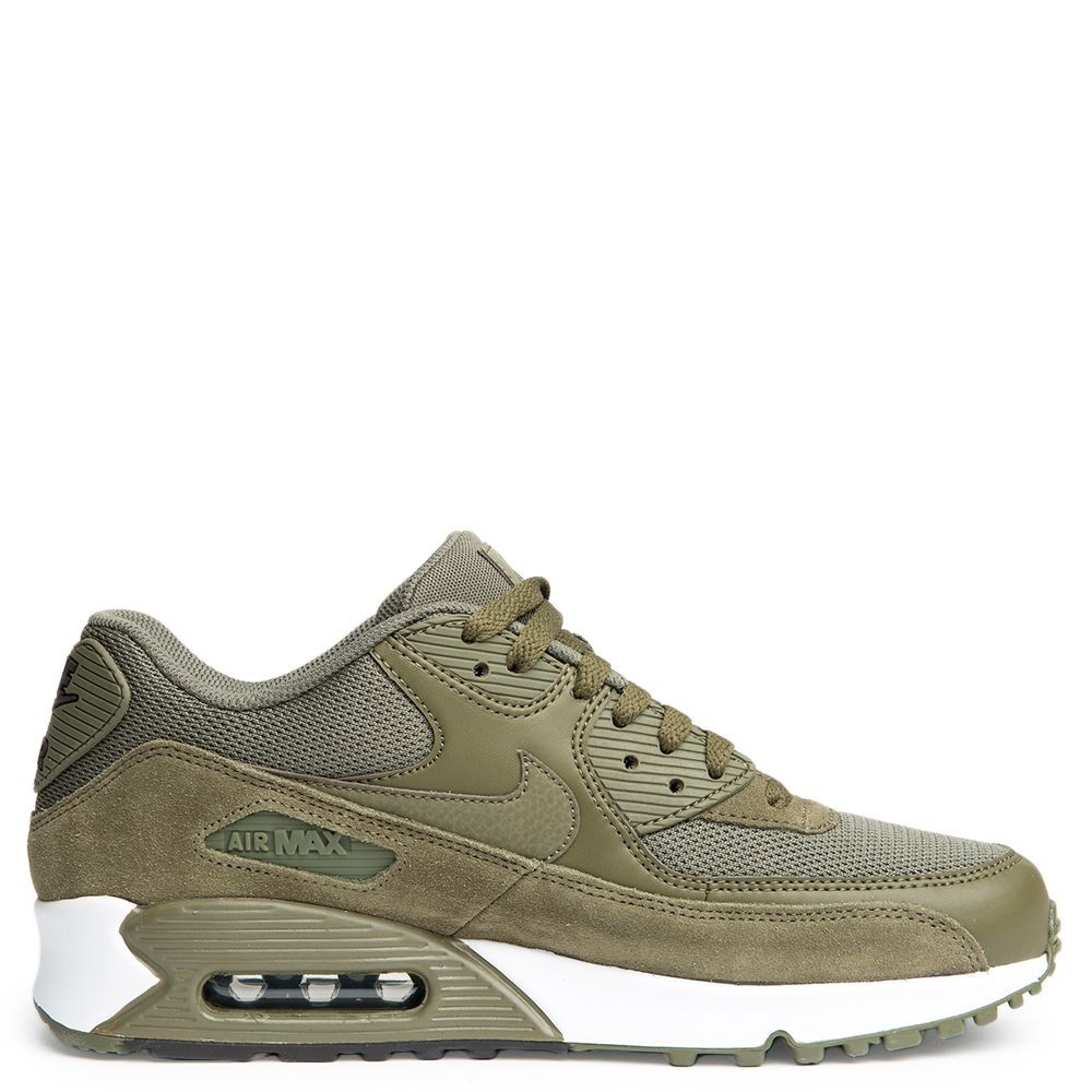 537384-201 Homme Nike Air Max 90 Essential - Olive/Marron