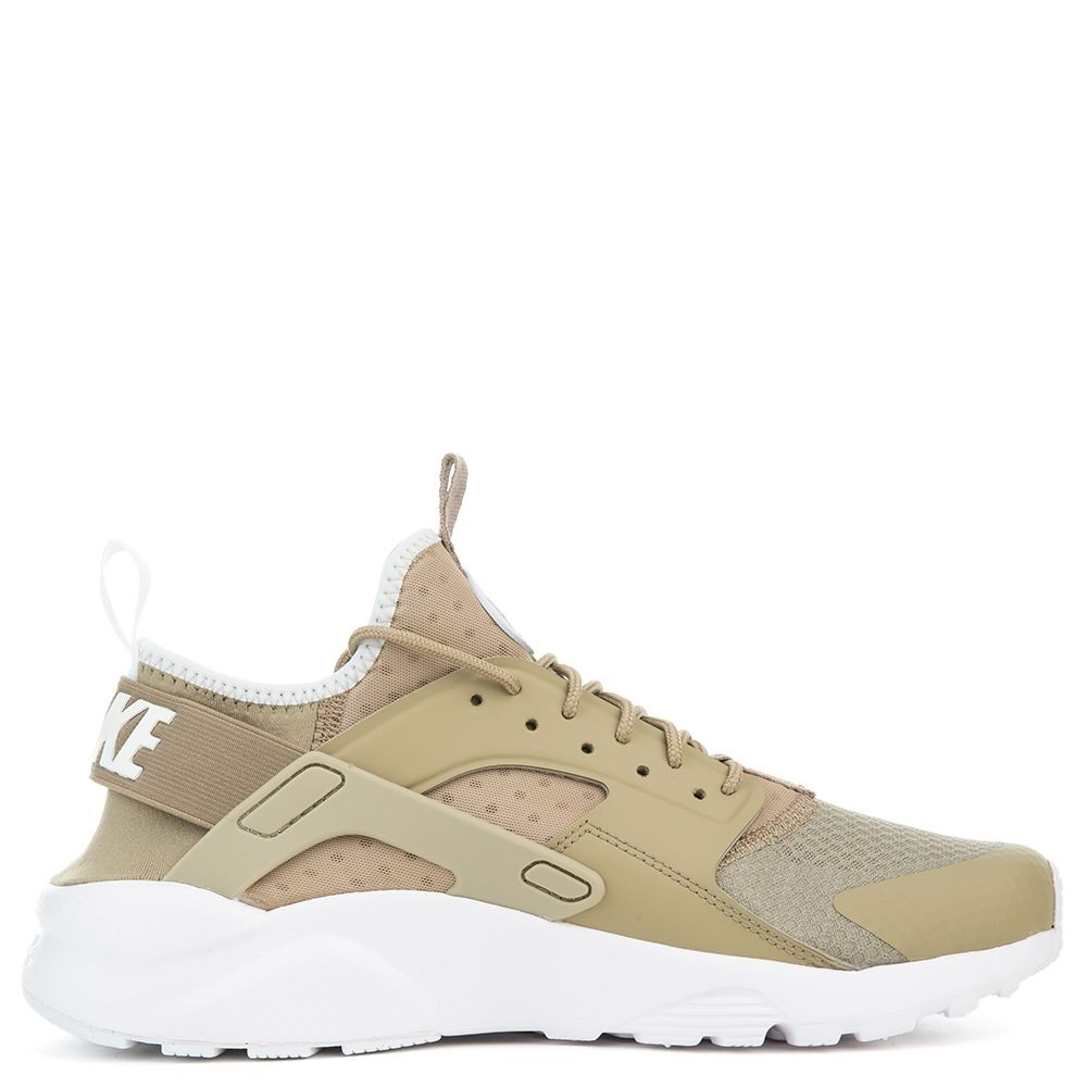 819685-200 Nike Air Huarache Run Ultra - Khaki/Grise-Blanche