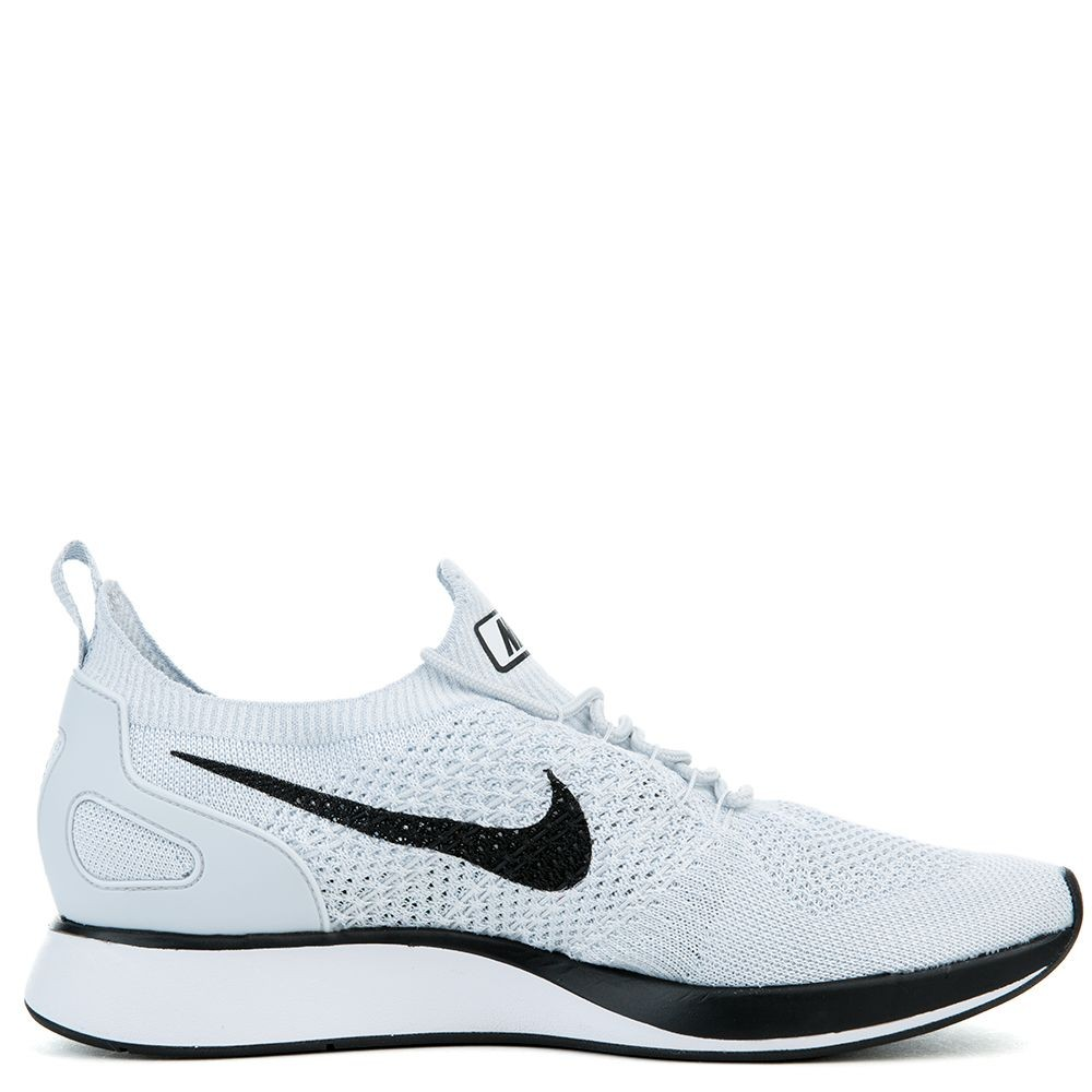 918264-002 Nike Air Zoom Mariah Flyknit Racer Chaussures - Pure Platinum/Blanche