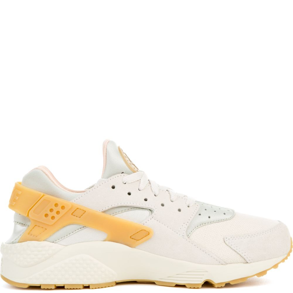 852628-004 Nike Air Huarache Run SE - Phantom/Jaune-Light Bone