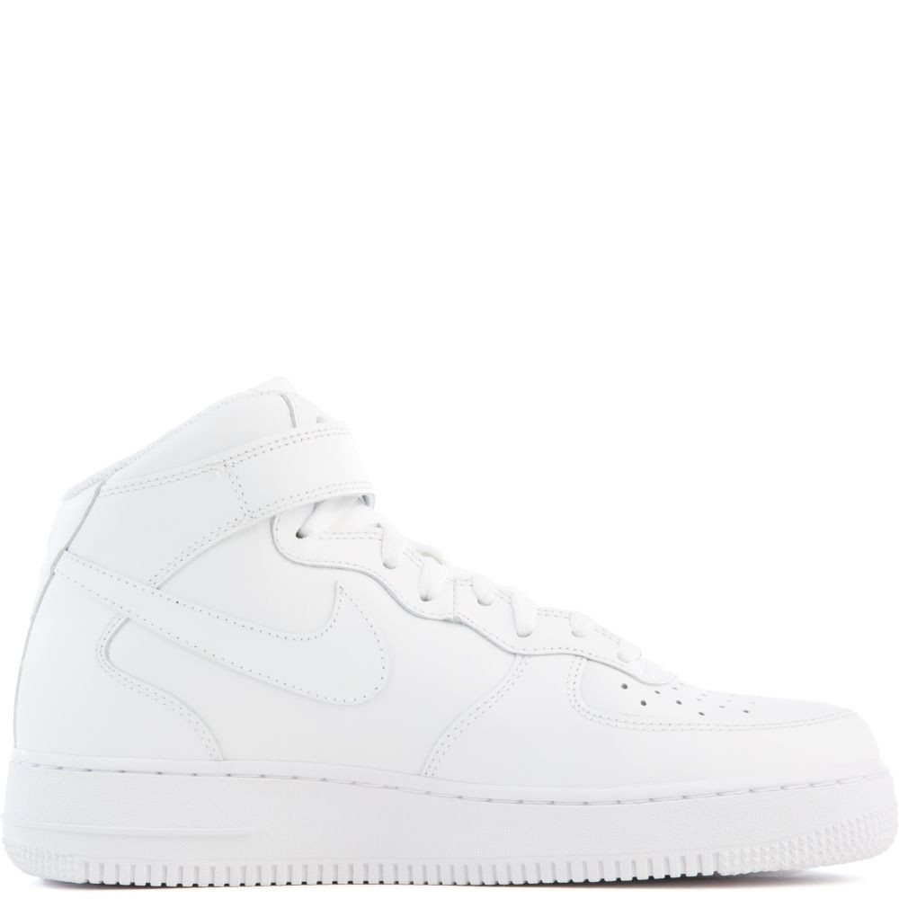 315123-111 Nike Air Force 1 Mid '07 Chaussures - Blanche/Blanche