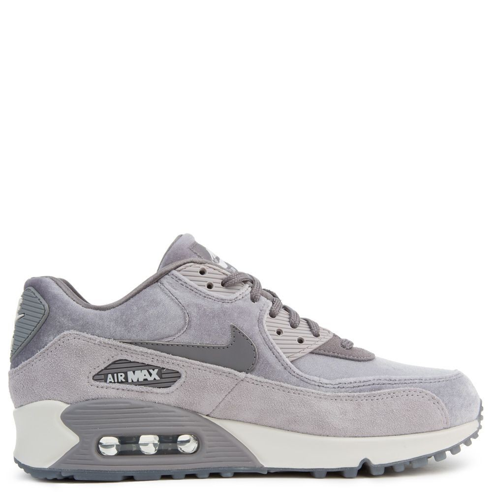 898512-007 Nike Air Max 90 LX Chaussures - Gunsmoke/Grise