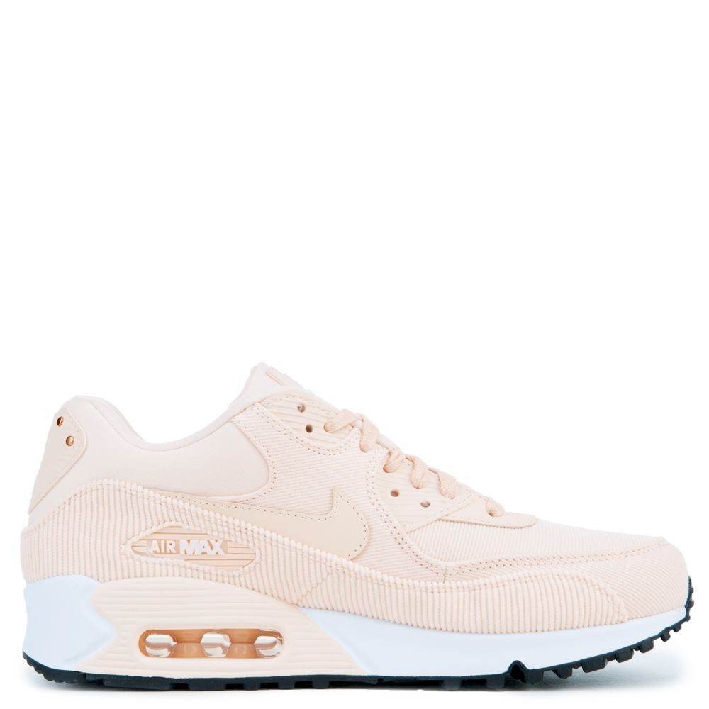 921304-800 Femme Nike Air Max 90 Leather - Guava Ice/Noir-Blanche