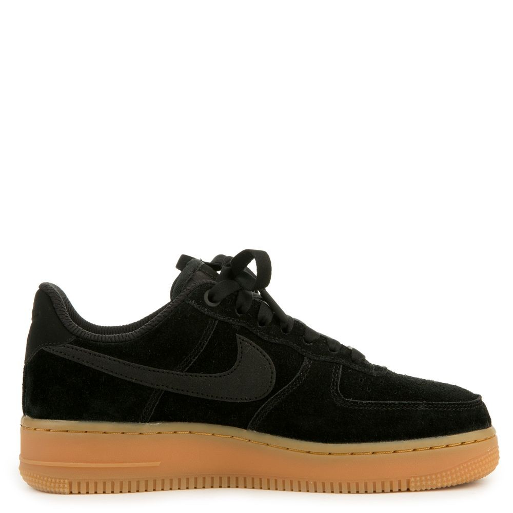 AA0287-002 Nike Air Force 1 '07 Special Edition - Noir/Noir-Gum Marron