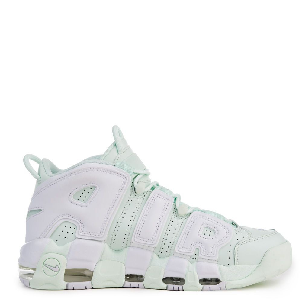 917593-300 Nike Air More UPTEMPO - Barely Vert/Blanche