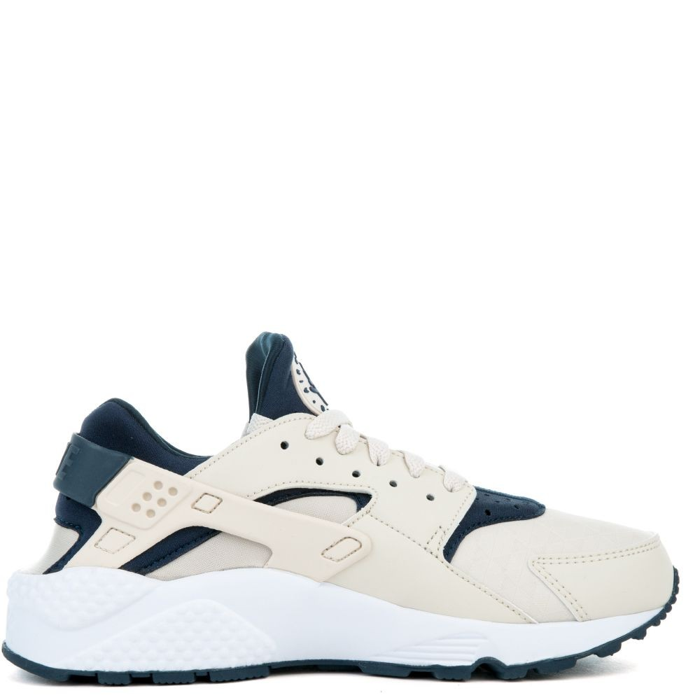634835-114 Nike Air Huarache Run - Marron/Armory Navy-Blanche