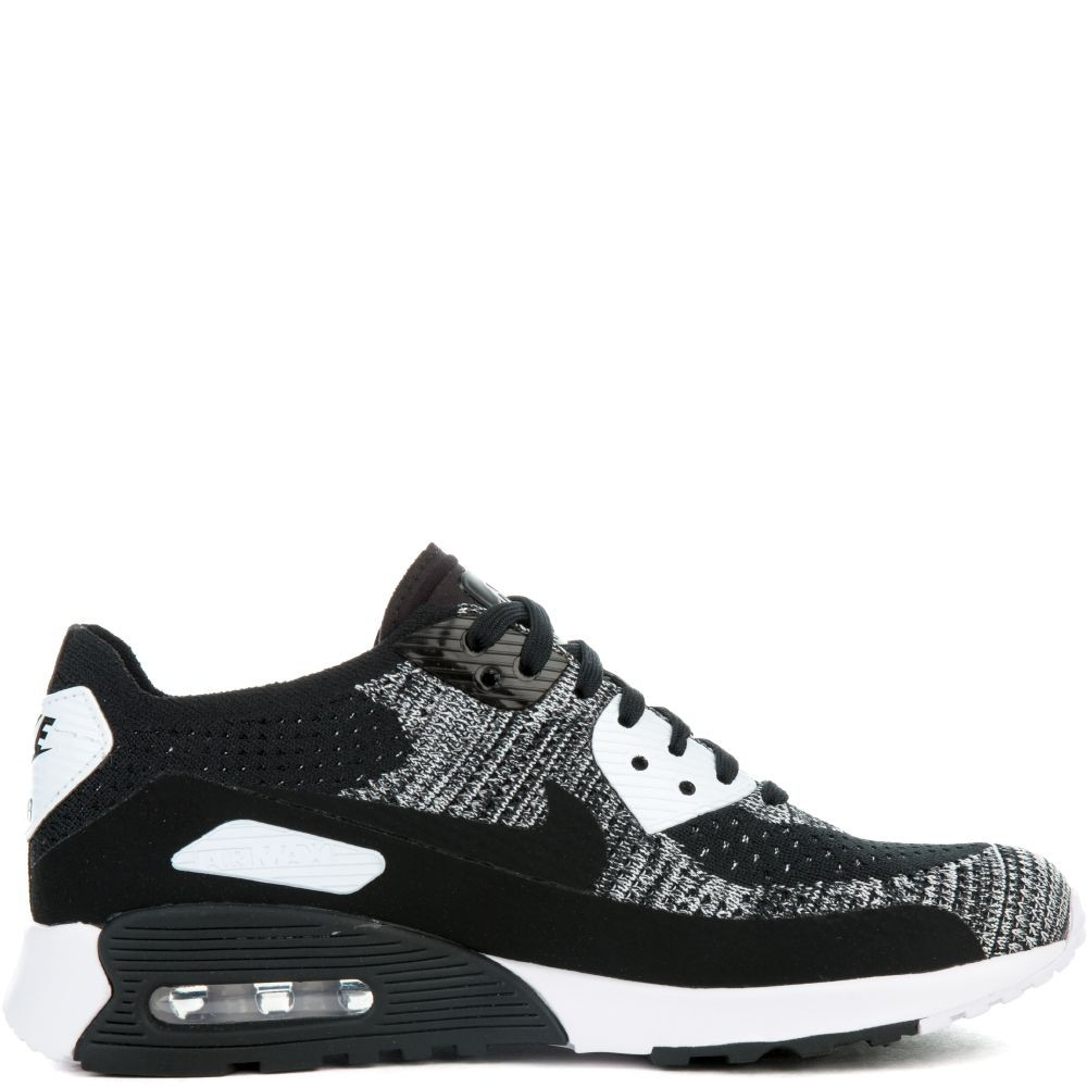 881109-002 Nike Air Max 90 Ultra 2.0 Flyknit - Noir/Blanche-Anthracite