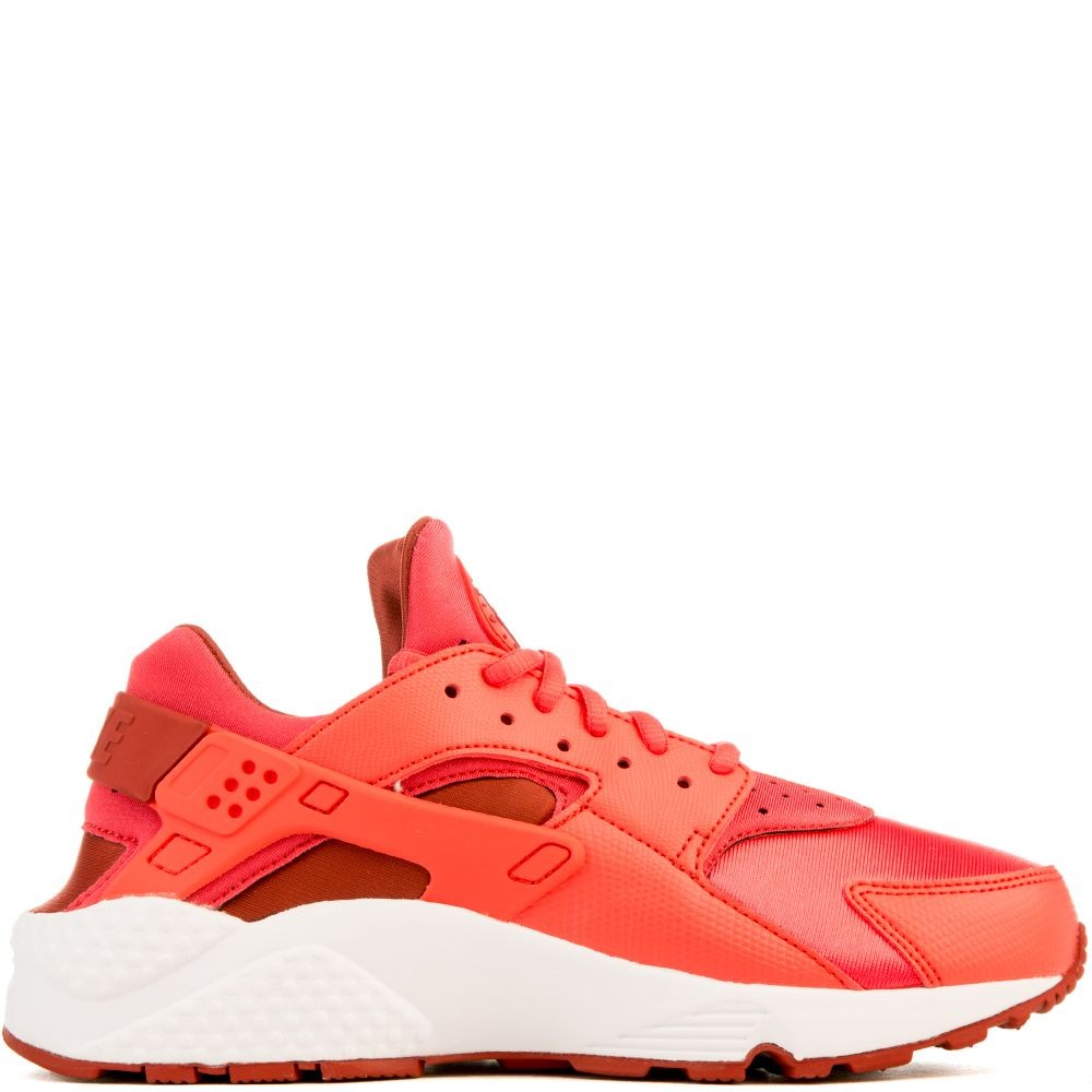 634835-801 Nike Air Huarache Run Chaussures - Orange/Rouge/Blanche