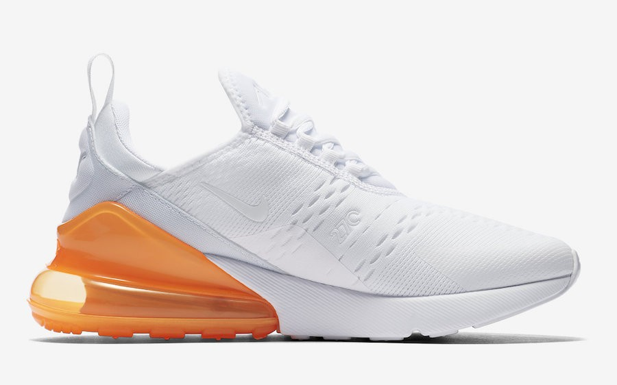 Nike Air Max 270 Blanche/Orange AH8050-102
