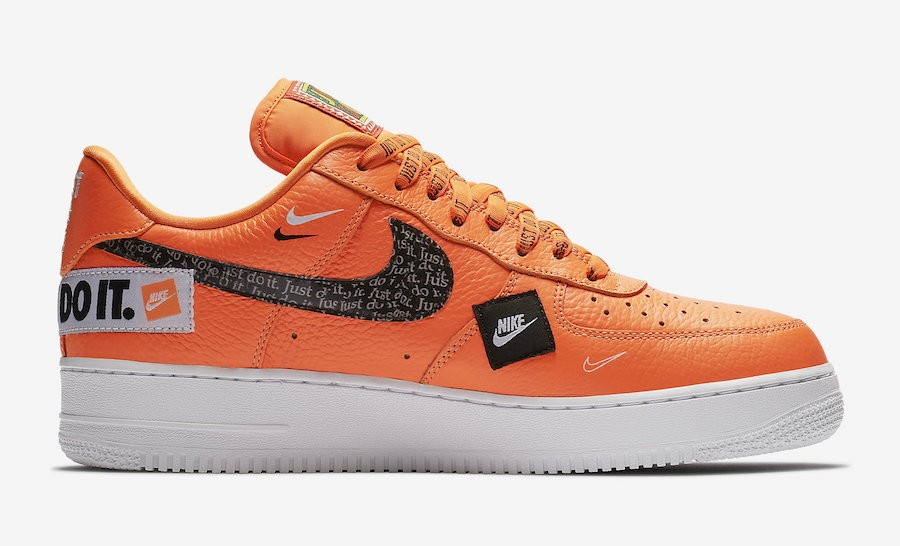 Nike Air Force 1 Low Just Do It 905345-800 Orange