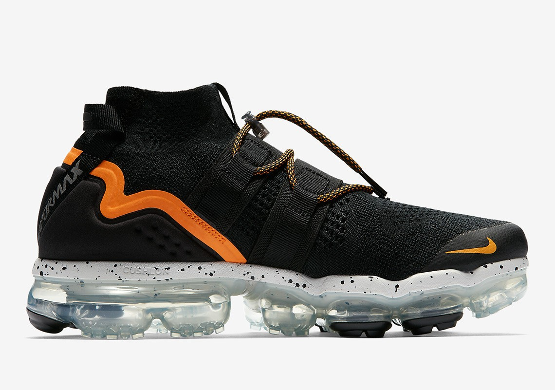 Nike Air VaporMax FK Utility Noir/Orange - AH6834-008
