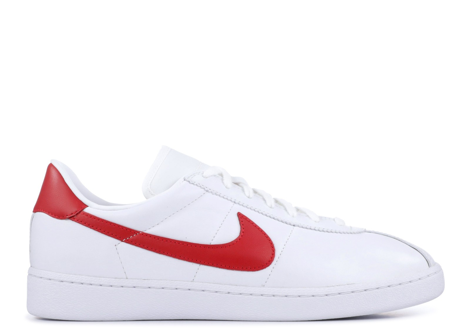 Nike Bruin Leather Blanche/Rouge 826670-160
