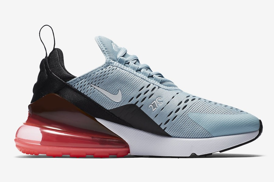 Nike Air Max 270 Ocean Bliss/Noir-Hot Punch AH6789-400