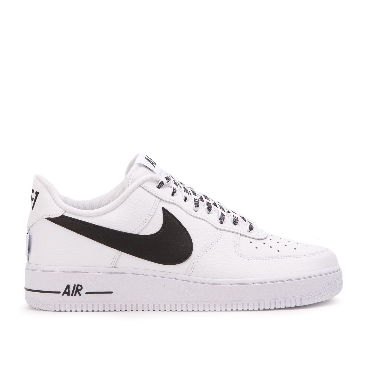 "Nike Air Force 1 Low ""NBA Pack"" Blanche/Noir 823511-103"