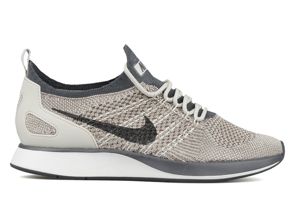 Chaussures Nike Femme Air Zoom Mariah Flyknit Racer Grise/Blanche AA0521-002