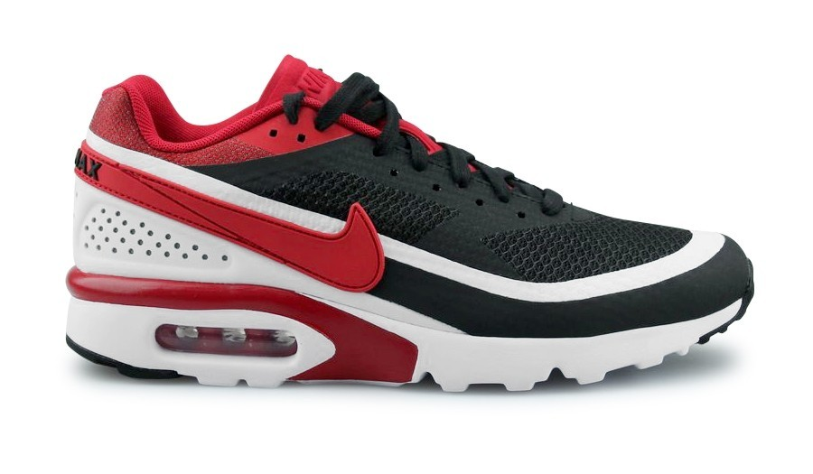 Nike Air Max BW Ultra SE Homme Noir/Blanche/Metallic Silver/Rouge 844967-006