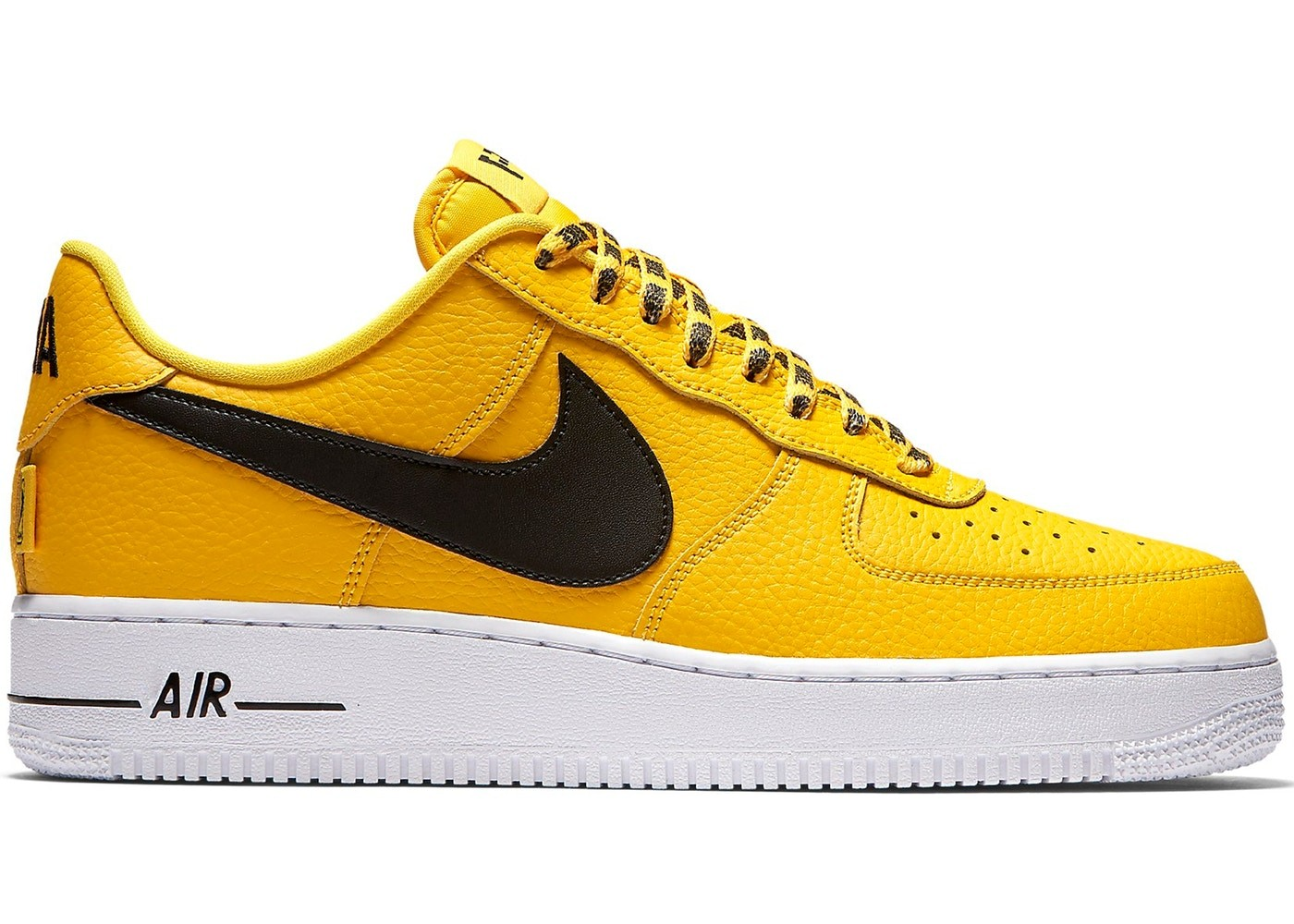 Nike Air Force 1 Low Jaune/Noir Homme 823511-701