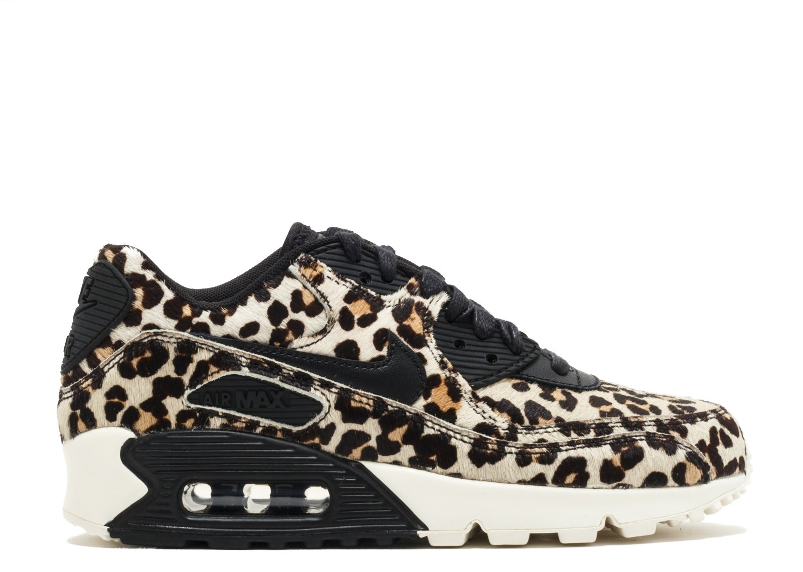 "Nike Femme Air Max 90 LX ""Animal-Pack"" Noir/Noir 898512-004"