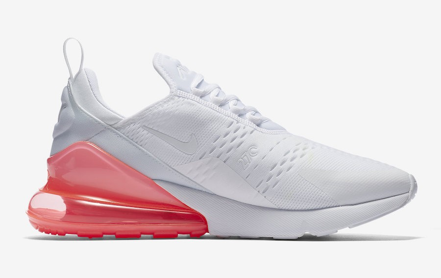Nike Air Max 270 Blanche/Hot Punch AH8050-103
