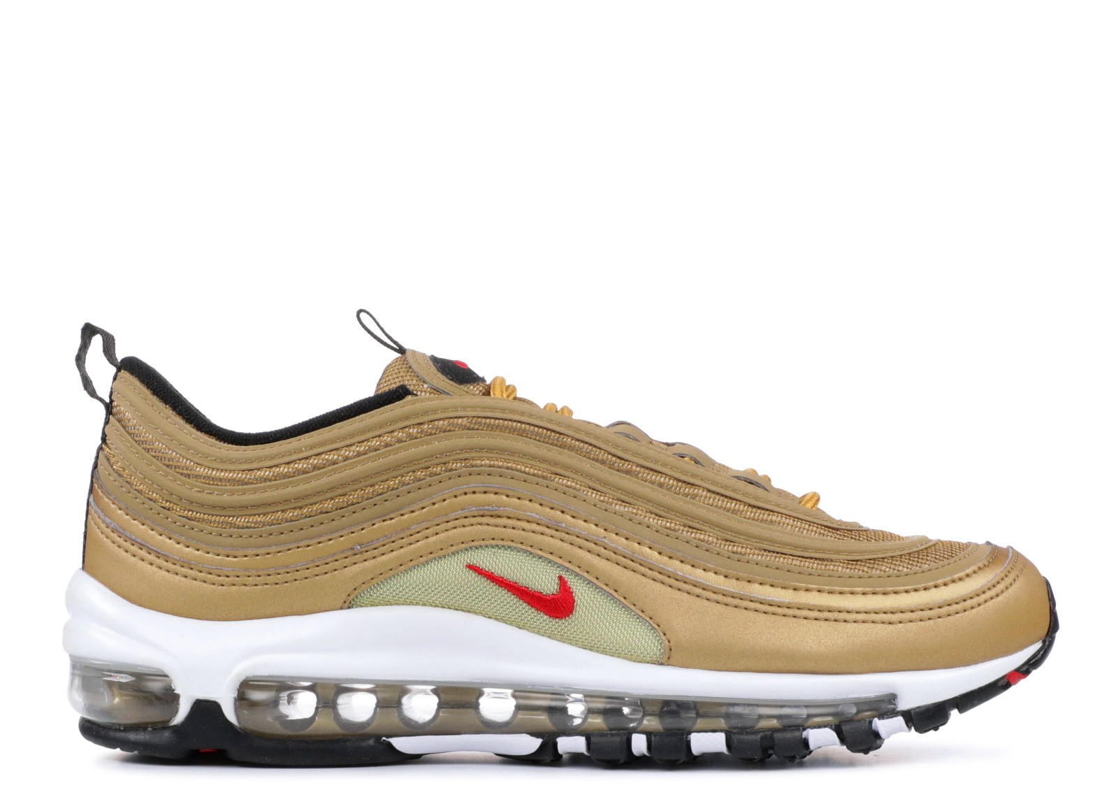 Nike Air Max 97 QS Femme Metallic Gold/Rouge 918890-700