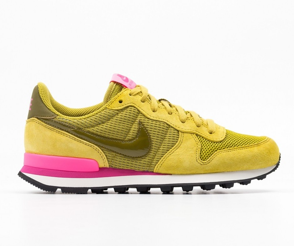 Nike Femme Internationalist (Jaune/Rose) 828407-302