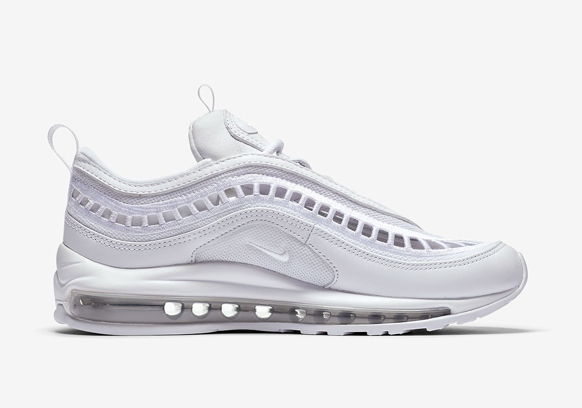 AO2326-100 Nike Air Max 97 Ultra '17 Blanche/Blanche-Grise
