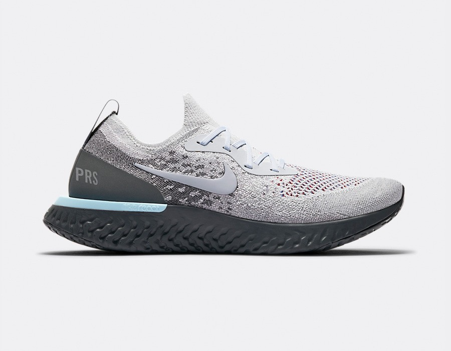 AV7013-200 Nike Epic React Flyknit - Light Cream/Grise-Grise foncé