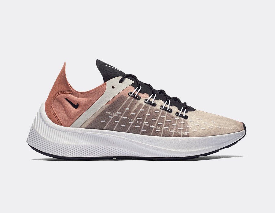 AO3170-200 Nike Femme EXP-X14 Chaussures - Terra Blush/Blanche-Light Bone
