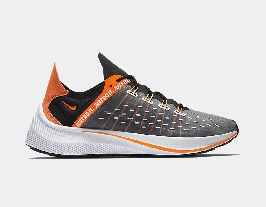 AO3095-001 Nike EXP-X14 SE Just Do It - Noir/Orange-Blanche-Grise
