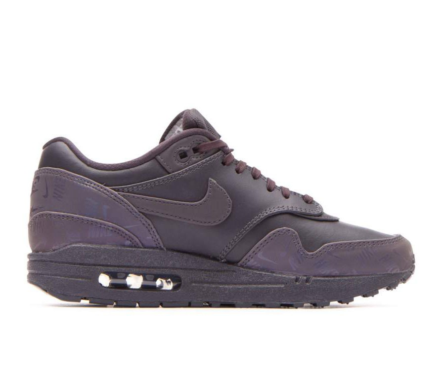 917691-001 Nike Femme Air Max 1 Lux Chaussures - Grise/Grise-Grise