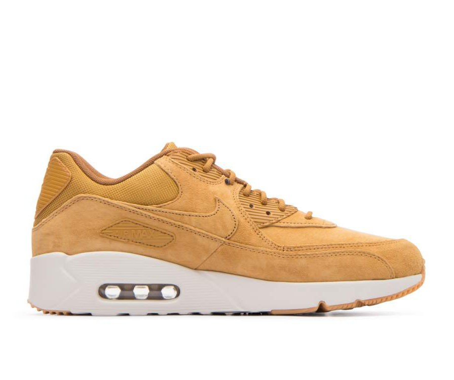 924447-700 Nike Air Max 90 Ultra 2.0 LTR - Wheat/Wheat/Light Bone/Marron