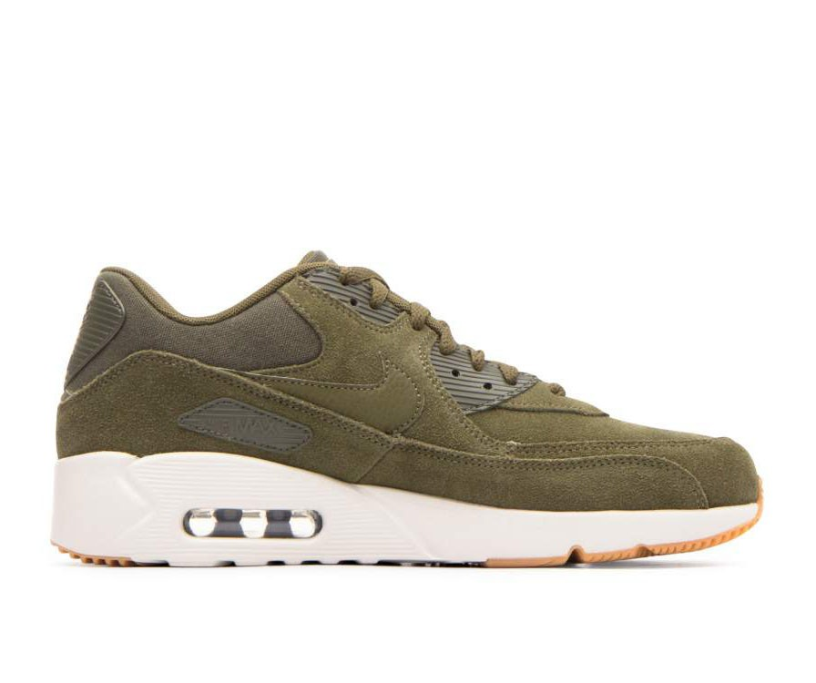 924447-301 Nike Air Max 90 Ultra 2.0 LTR - Olive Canvas/Olive-Light Bone