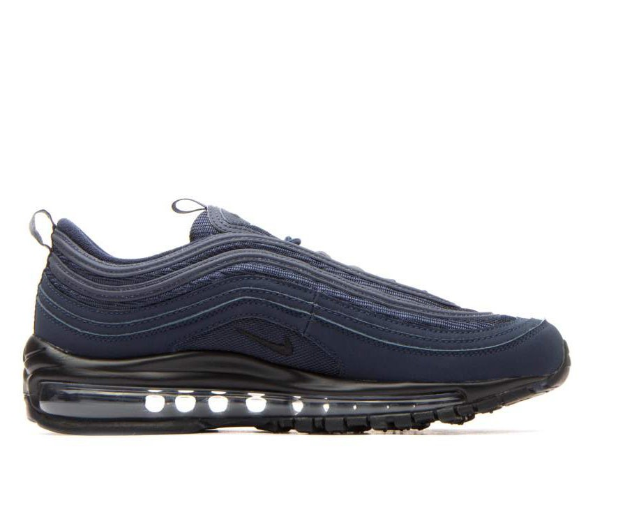 921522-403 Nike Air Max 97 GS Chaussures - Obsidian/Noir-Midnight Navy
