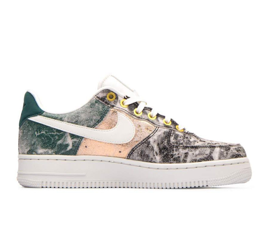 AO1017-100 Nike Femme Air Force 1 '07 LXX - Blanche/Blanche-Grise
