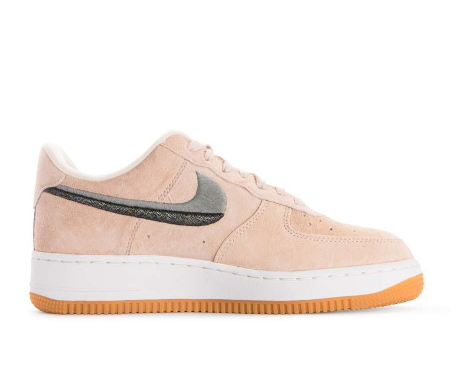 898889-801 Nike Femme Air Force 1 07 LX - Guava Ice/Vert-Jaune