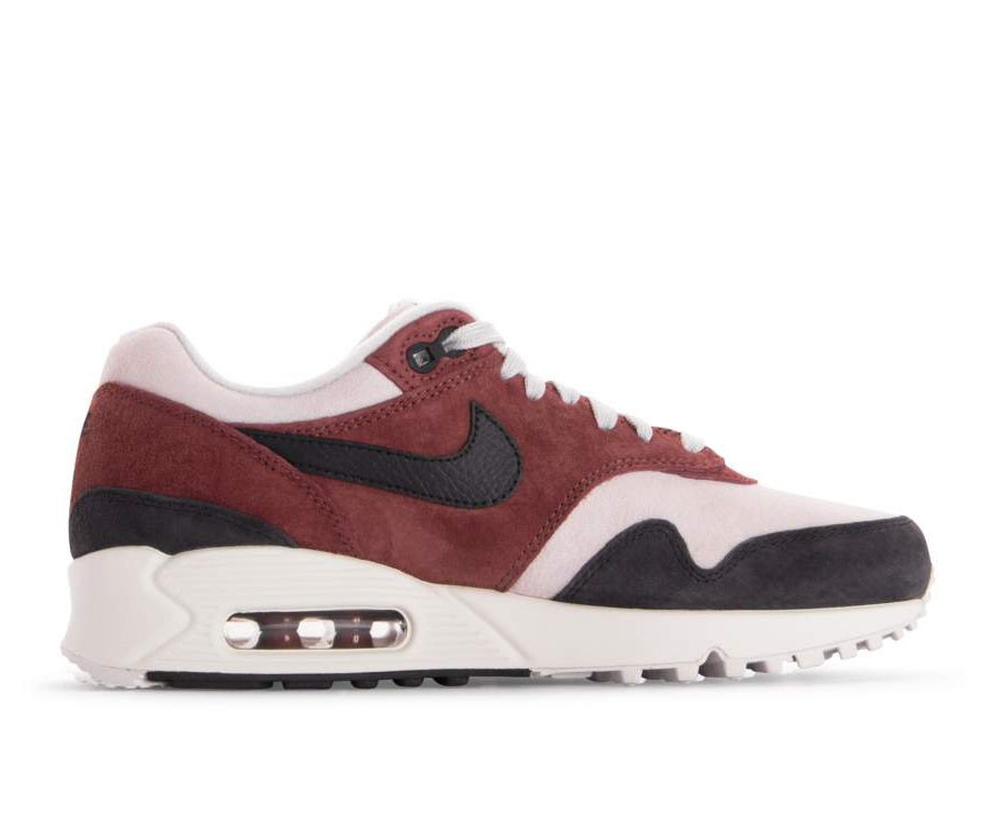 AQ1273-200 Nike Femme Air Max 90/1 - Rouge/Grise-Grise