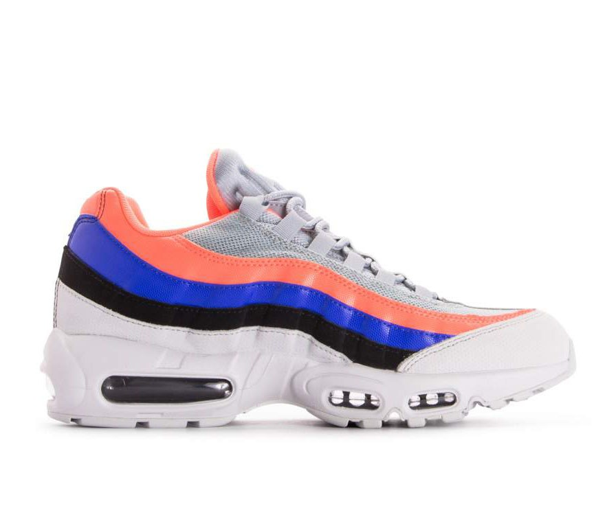 749766-035 Nike Air Max 95 Essential - Pure Platinum/Noir-Bright Mango
