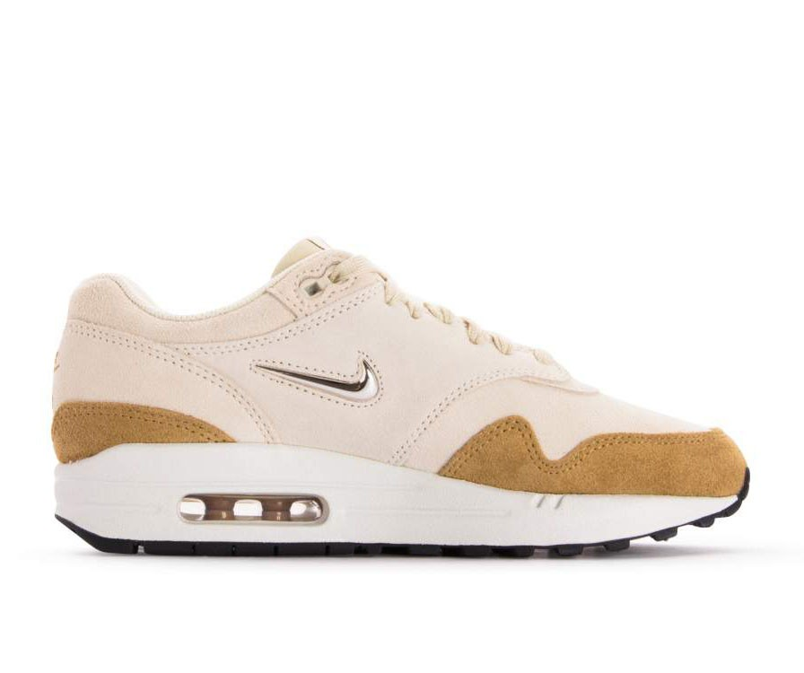 AA0512-200 Nike Femme Air Max 1 Premium SC - Beach/Metallic Gold-Muted Bronze