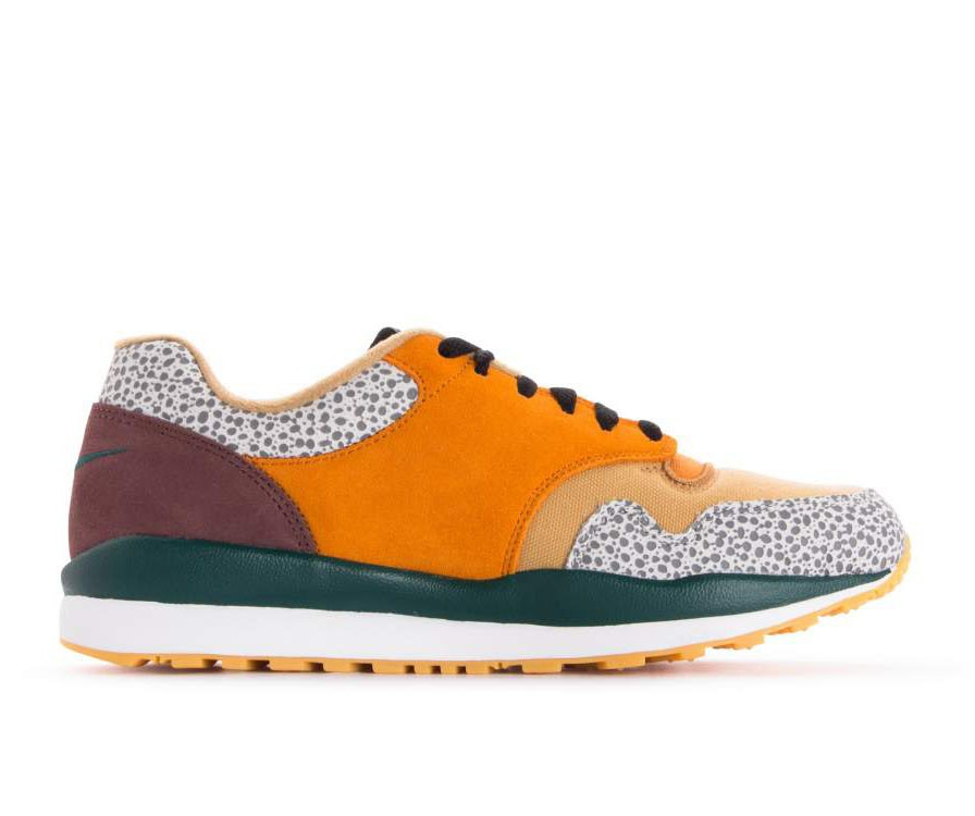 AO3298-800 Nike Air Safari SE - Monarch/Jaune-Flax-Mahogany Mink