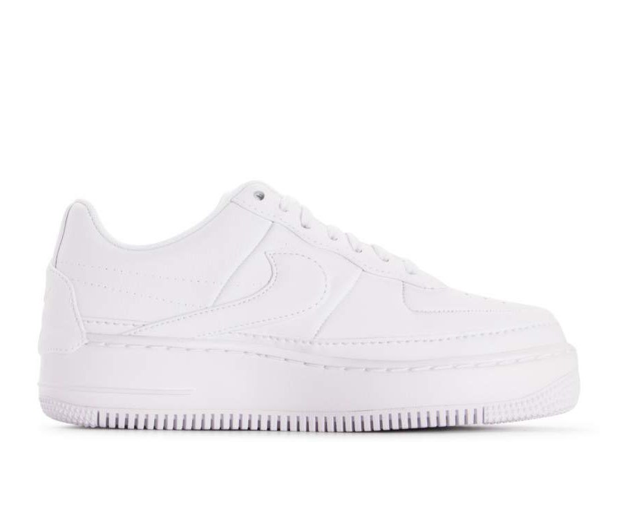 AO1220-101 Nike Femme Air Force 1 Jester XX - Blanche/Blanche-Noir