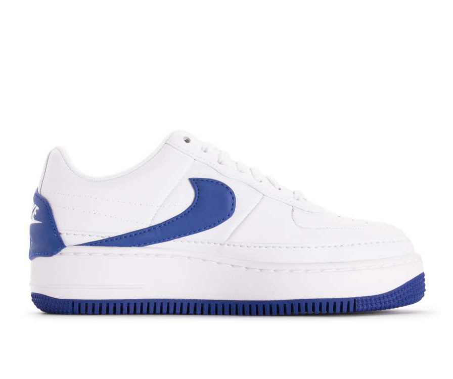 AO1220-104 Nike Femme Air Force 1 Jester XX - Blanche/Game Royal