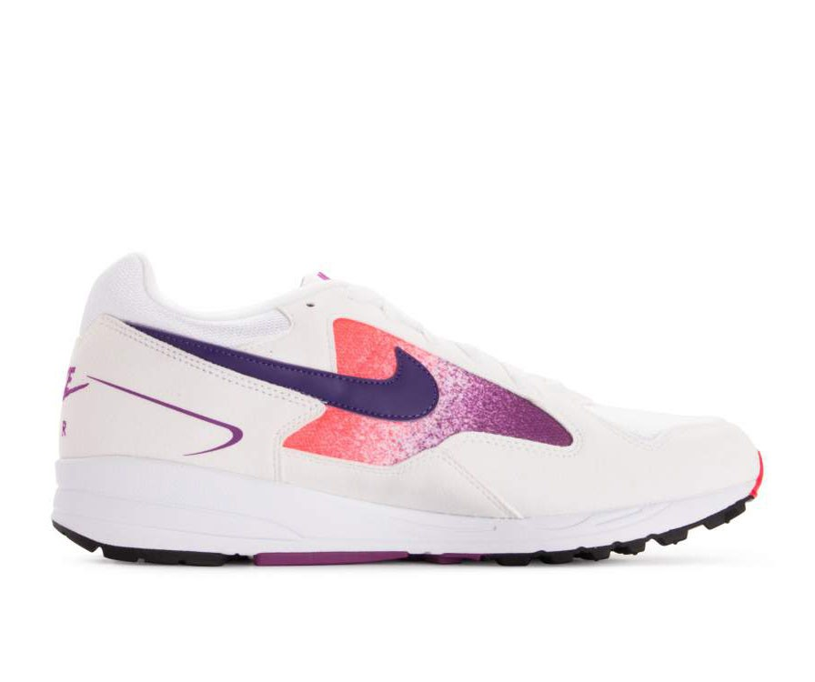 AO1551-103 Nike Air Skylon II Chaussures - Blanche/Violet-Rouge