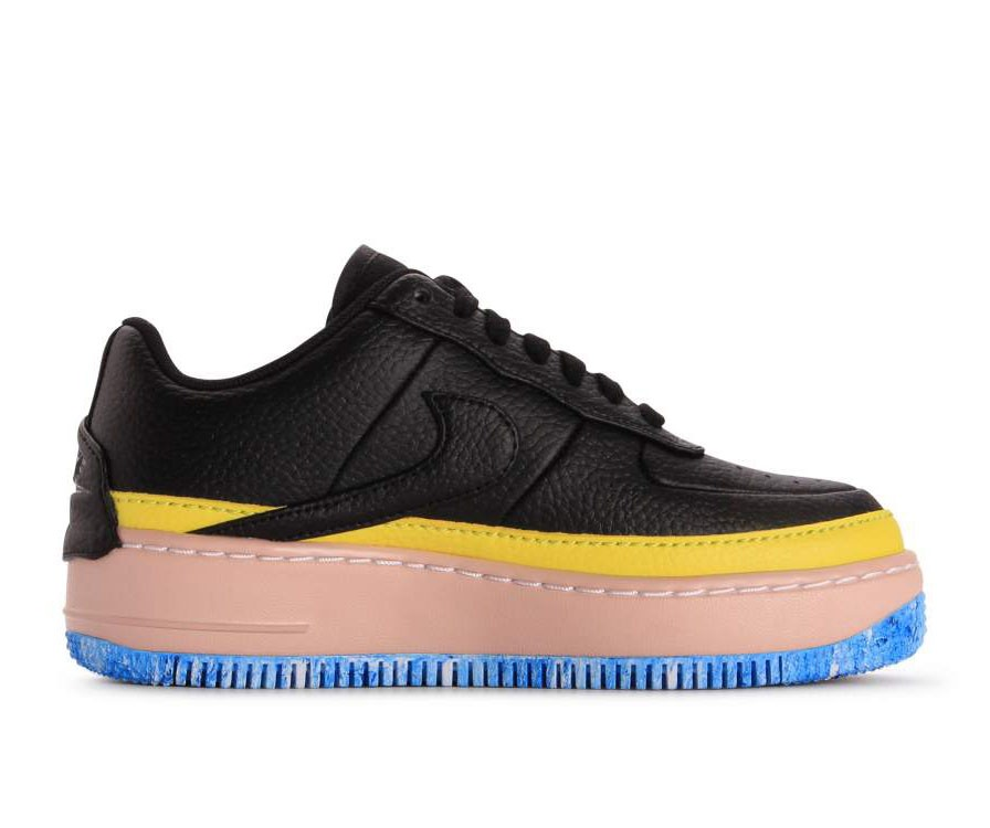 AT2497-001 Nike Femme Air Force 1 Jester XX SE - Noir/Jaune-Orange
