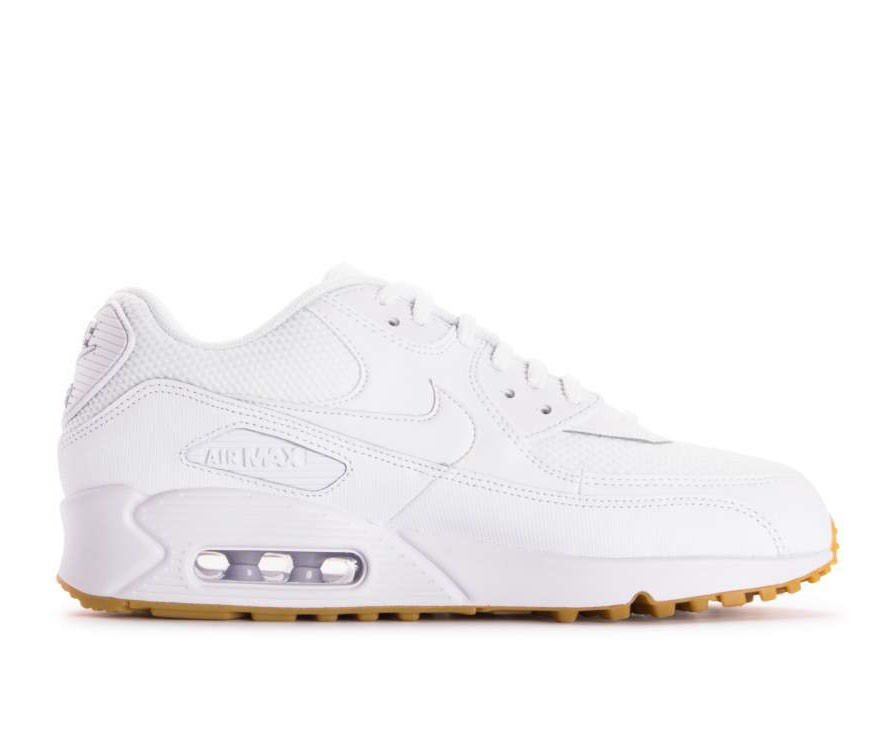 separation shoes available stable quality Femme Nike Air Max 90 Chaussures 325213-136 - Blanche ...